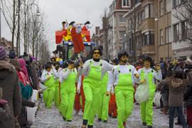 Carnival at Knokke-Heist, Belgium, Europe.