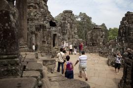The Bayon Temple. V10CAM0043RM