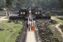 Baphuon temple at Angkor. V10CAM0071RM