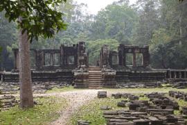 Ruin at Angkor Thom.