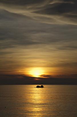 Sunset on Ko Lipe, Thailand