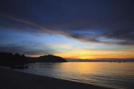 Sunset at Ko Lipe, Thailand