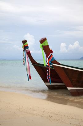 Longtail boats. V0THA1038