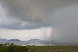 Stormy weather at Ko Lanta